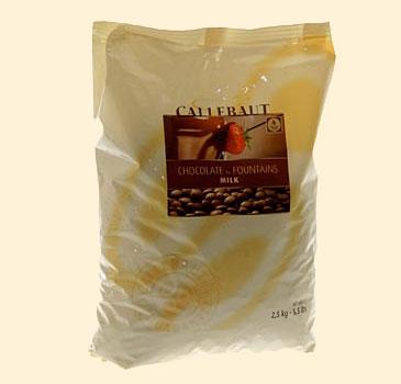 Callebaut Vollmilch, f�r Brunnen Fondue, als Callets, 37,8% Kakao