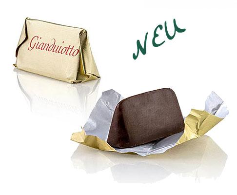 Pralinen von Tartuflanghe - Gianduiotto Classico, mit piemonteser Haselnüssen, gold