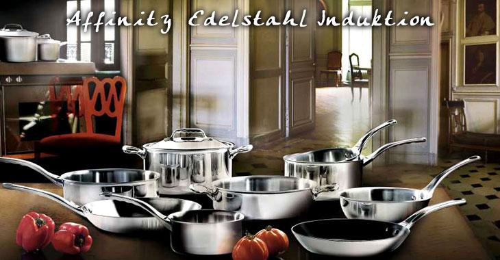 de BUYER Affinity Edelstahl Induktion Kochgeschirr aus Frankreich