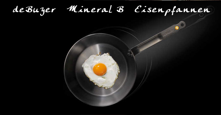 de BUYER Mineral B Kochgeschirr aus Frankreich