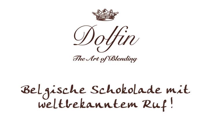 Dolfin aus Belgien, Schokoladen und Pralinen