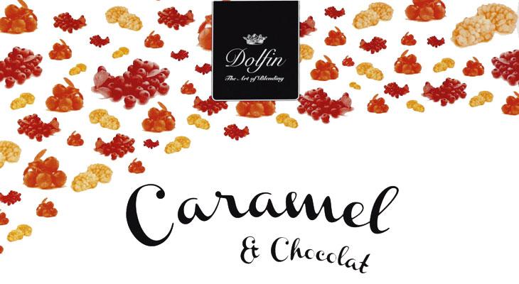 Caramel au beurre sale aux superfruits, Gesalzenes Butter-Karamell mit Superfr�chten, Dolfin