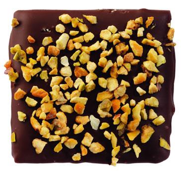 Caramel au beurre sale aux pistaches grillees, Gesalzenes Butter-Karamell mit ger�steten Pistazien, Dolfin