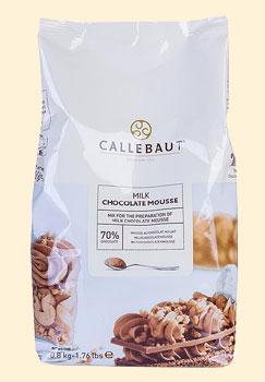 Callebaut Mousse au Chocolat - Pulver, Vollmilch