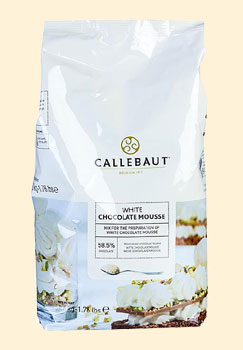 Callebaut Mousse au Chocolat - Pulver, weiß