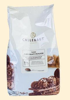 Callebaut Mousse au Chocolat - Pulver, dunkel