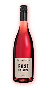 2014er Saigner, Rose Cuvee, trocken, 13 % vol., Markus Schneider