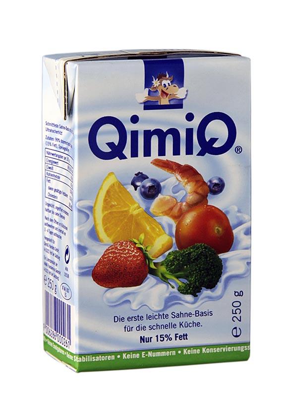 QimiQ Classic Natur, zum Kochen, Backen, Verfeinern, 15% Fett, 250 g ...