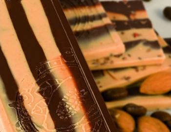 Coppeneur Cuvee-Schokolade, Mandel & Kaffee - 25 g - Papier