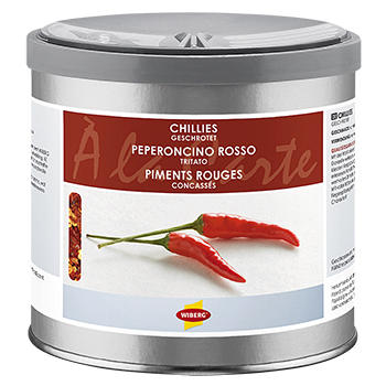 Wiberg chillies, cracked - 190 g - Aroma-Safe