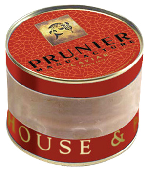 Prunier Kaviar St. James vom Caviar House & Prunier (Acipenser baerii) - 250 g - Originaldose mit Gummi