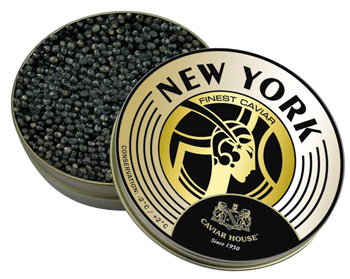 Caviar House Selection New York vom Caviar House & Prunier (Acipenser Transmontanus) - 250 g - Vakuumdose