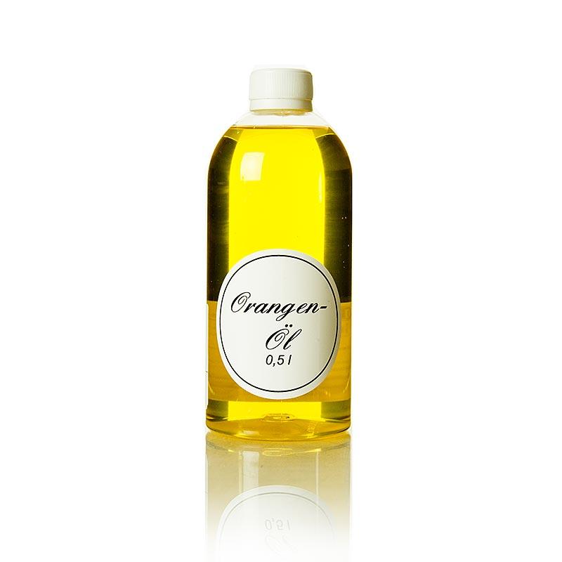 Orangenöl, Rapsöl mit Orange - 500 ml - Flasche