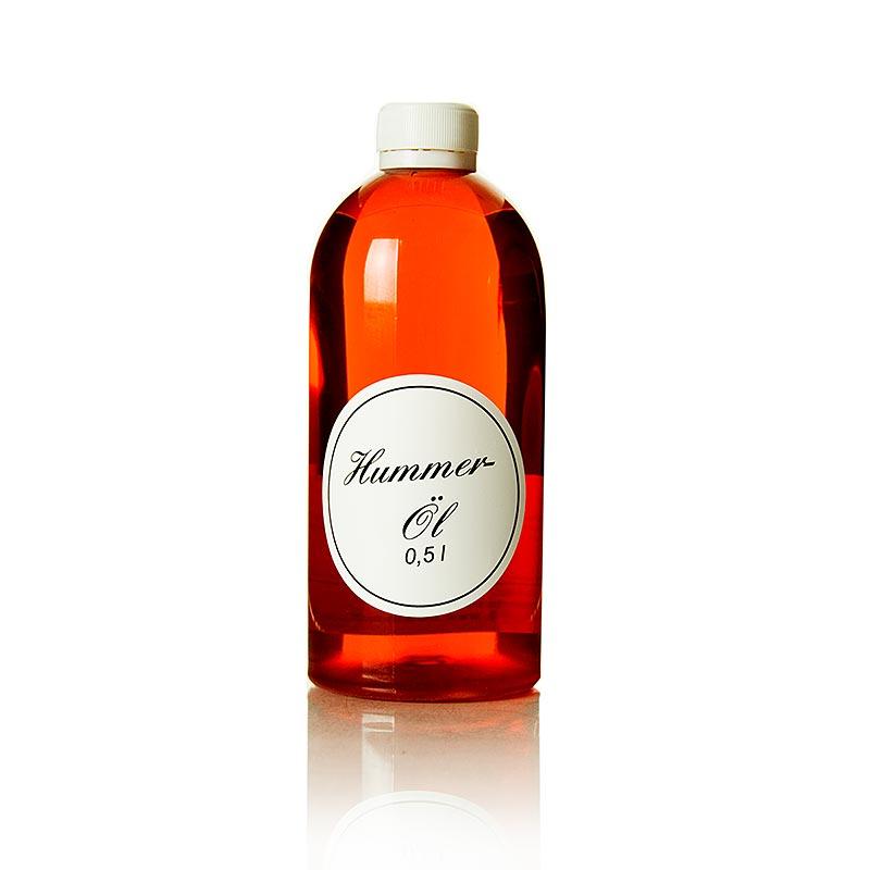 Hummeröl - Rapsöl mit Hummerfumet - 500 ml - Flasche