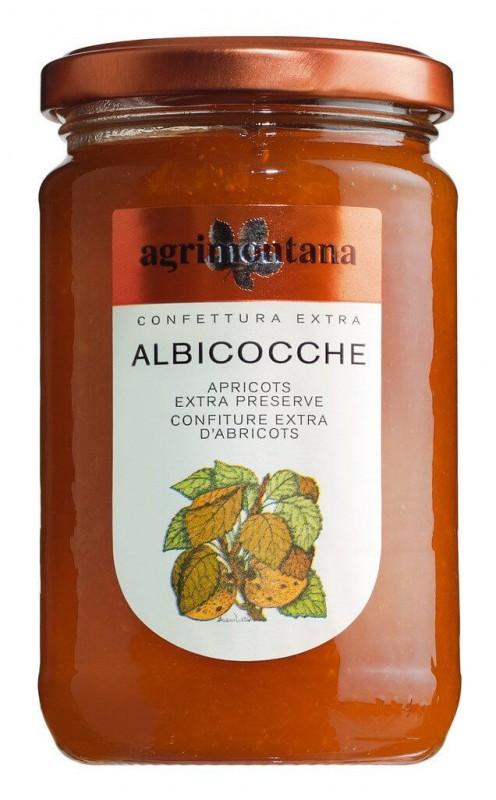 Confettura Albicocche Apricot Jam Agrimontana 350 G Glass