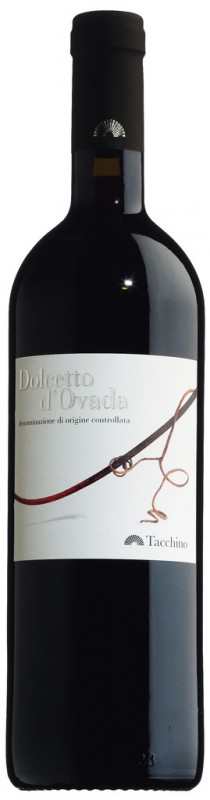 Rot, Stahl, Dolcetto d&039;Ovada DOC, Romina Tacchino - 0,75 l - Flasche
