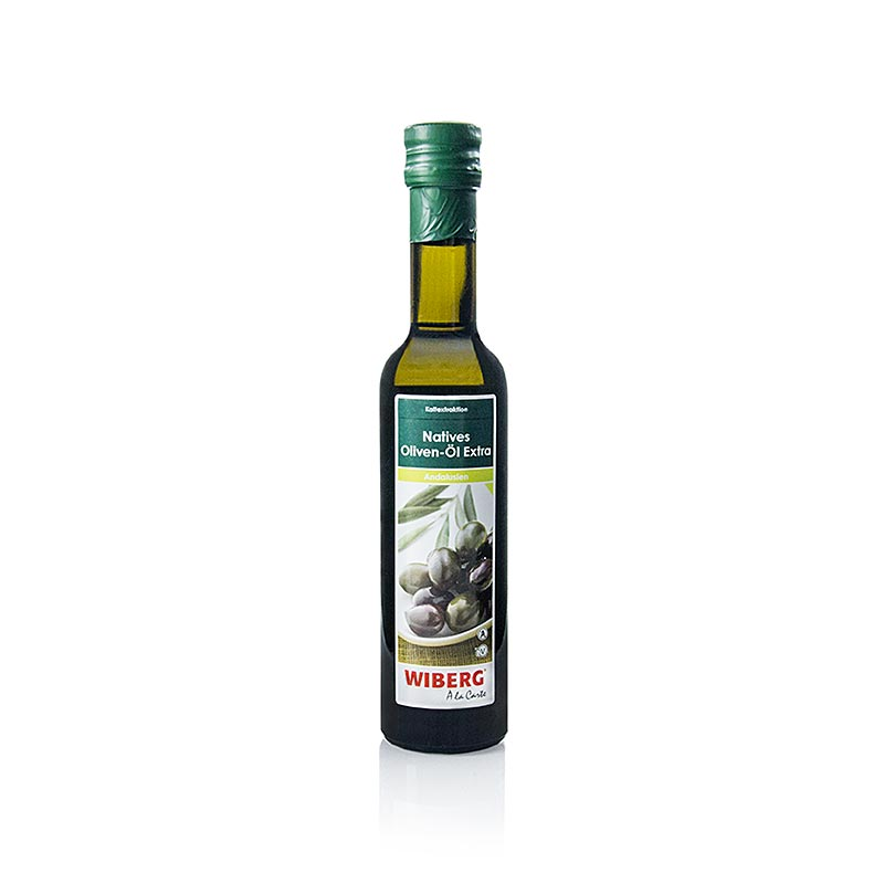 Wiberg Natives Olivenöl extra, Kaltextration, Andalusien - 250 ml - Flasche