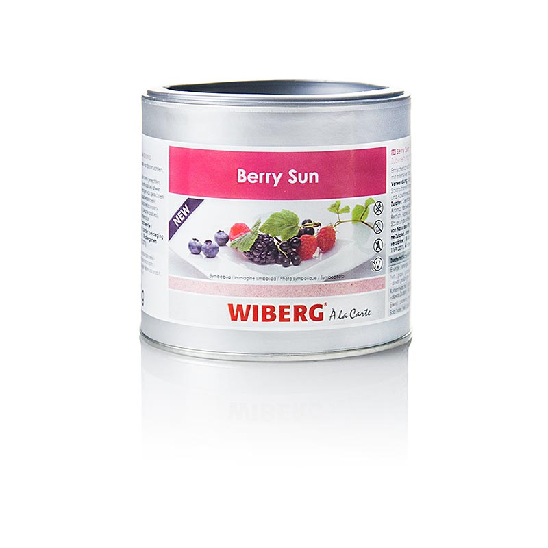 Wiberg Berry Sun, preparation with natural flavor - 300 g - aroma box