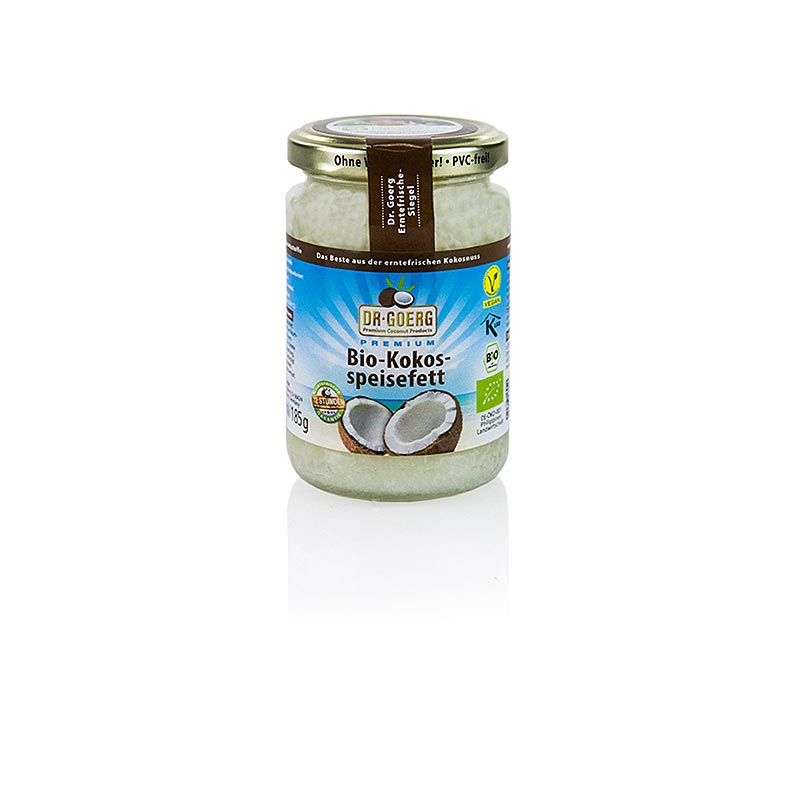 Dr.Goerg coconut cooking oil, BIO - 200 ml - Glass