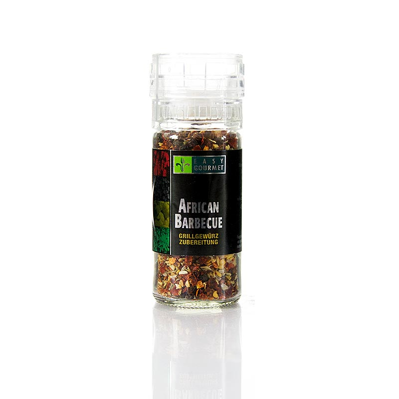 Gourmet-Gewürzmühle African Barbecue, Easy Gourmet - 48 g - Mühle