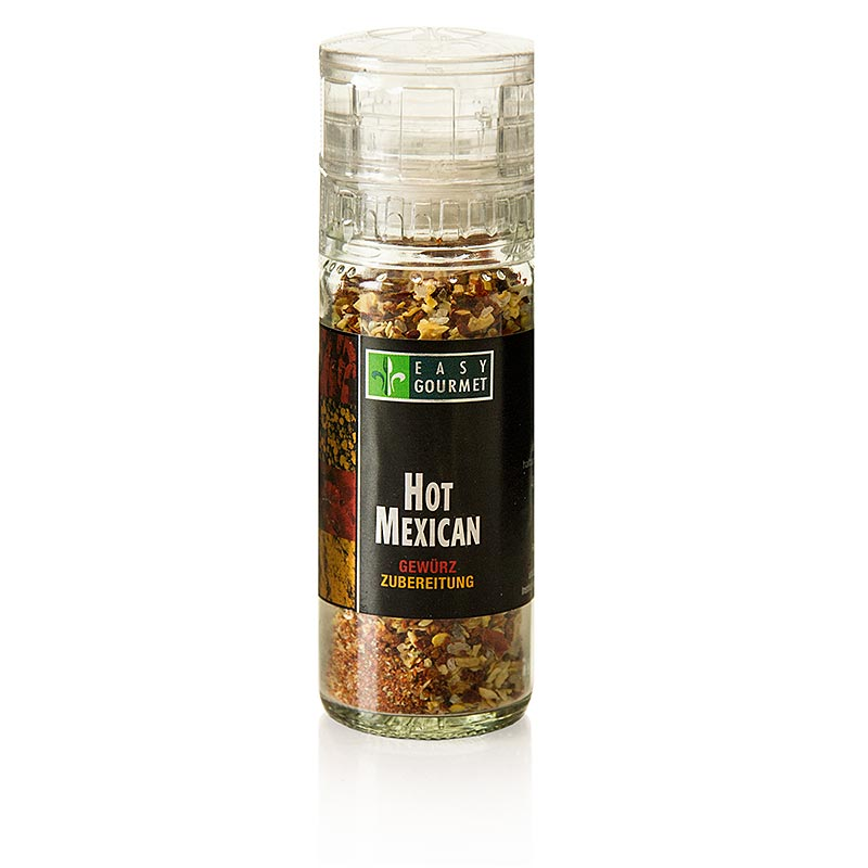 Gourmet-Gewürzmühle Hot Mexican, Easy Gourmet - 46 g - Mühle