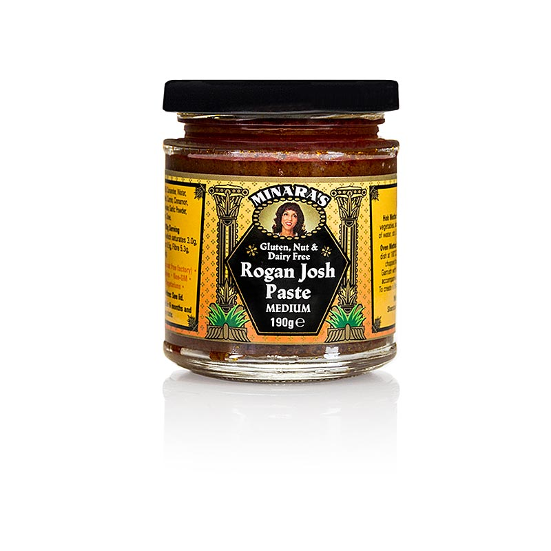 Curry Paste Rogan Josh, Minaras - 190 g - Glas