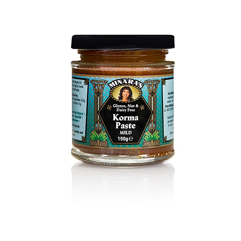 Curry Paste Korma, Minaras - 190 g - Glas