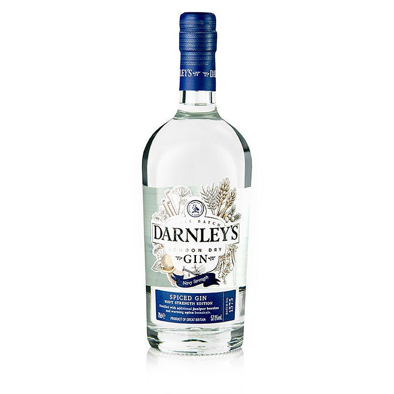 Darnley?s Spiced Gin, Navy Strength, 57,1% vol. - 700 ml - Flasche