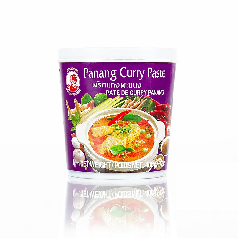 Curry Paste Panang, Cock Brand - 400 g - Pe-schale