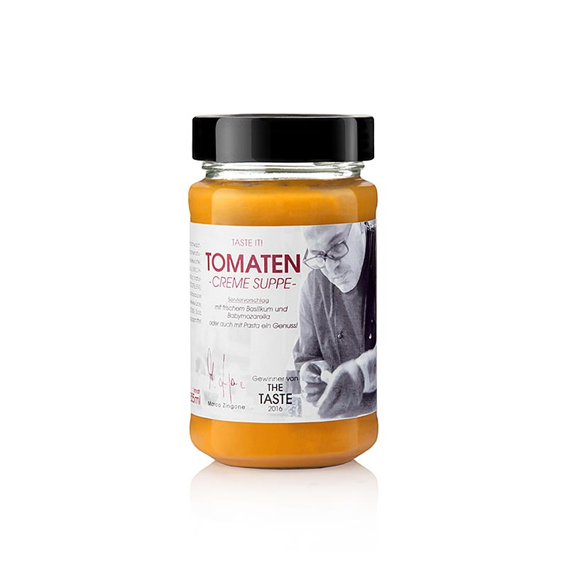 Marco Zingone?s Tomatencremesuppe - 225 ml - Glas