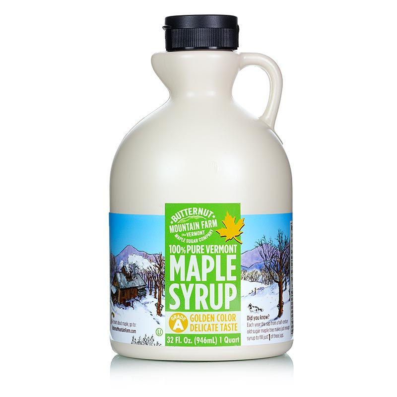Maple Syrup - Golden, Vermont - 946 ml - Pe-kanist.