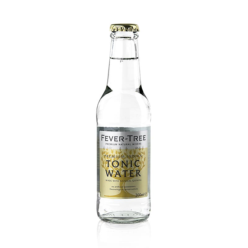 Fever Tree - Indian Tonic Water - 200 ml - Flasche