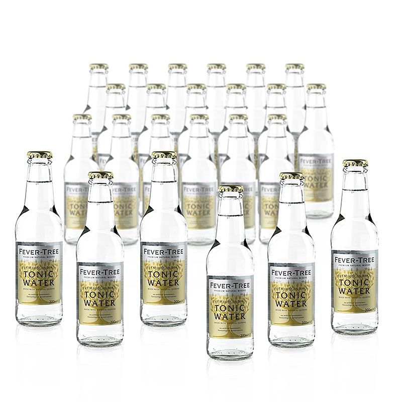 Fever Tree - Indian Tonic Water - 4,8 l, 24 x 200ml - Kiste