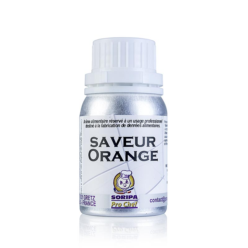SORIPA Orangen-Aroma, süß - Orange douce - 125 ml - Dose