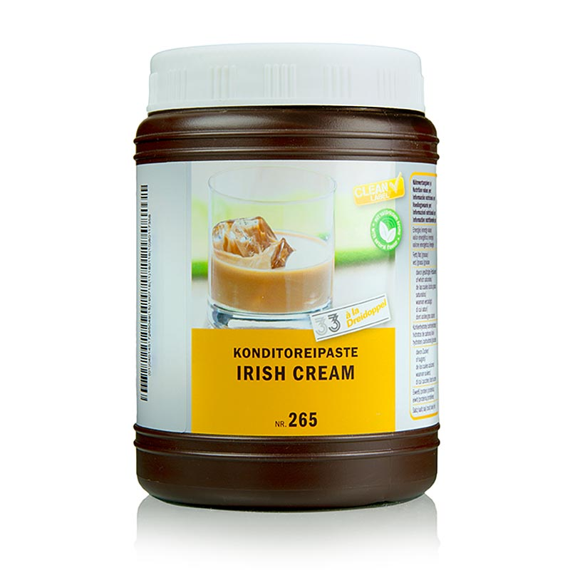 Irish-Cream-Paste, Dreidoppel, No.265 - 1 kg - Pe-dose