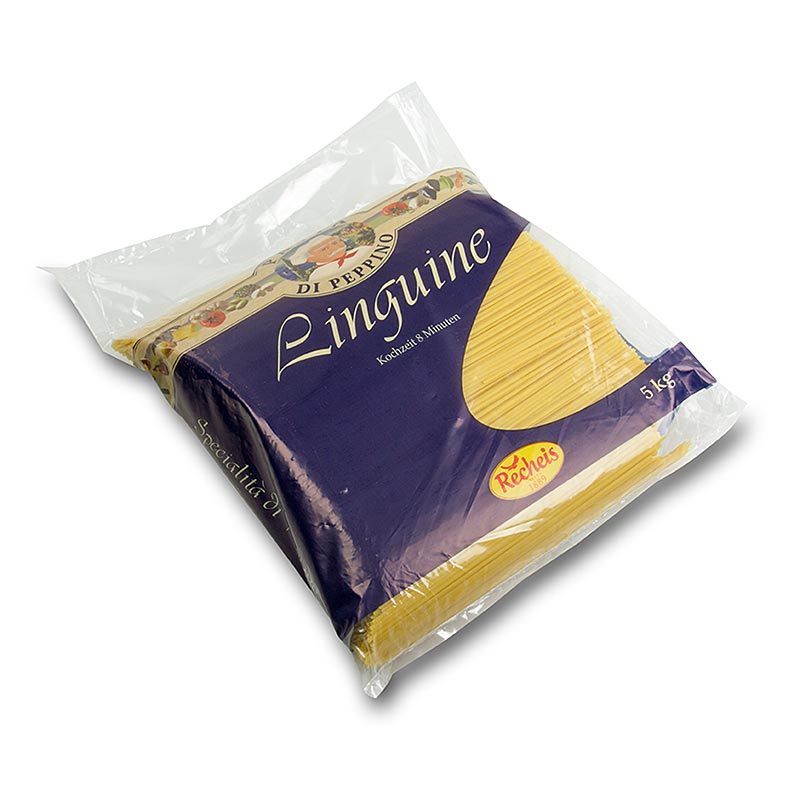Pasta di Peppino all` uovo - Linguine - 5 kg - Beutel
