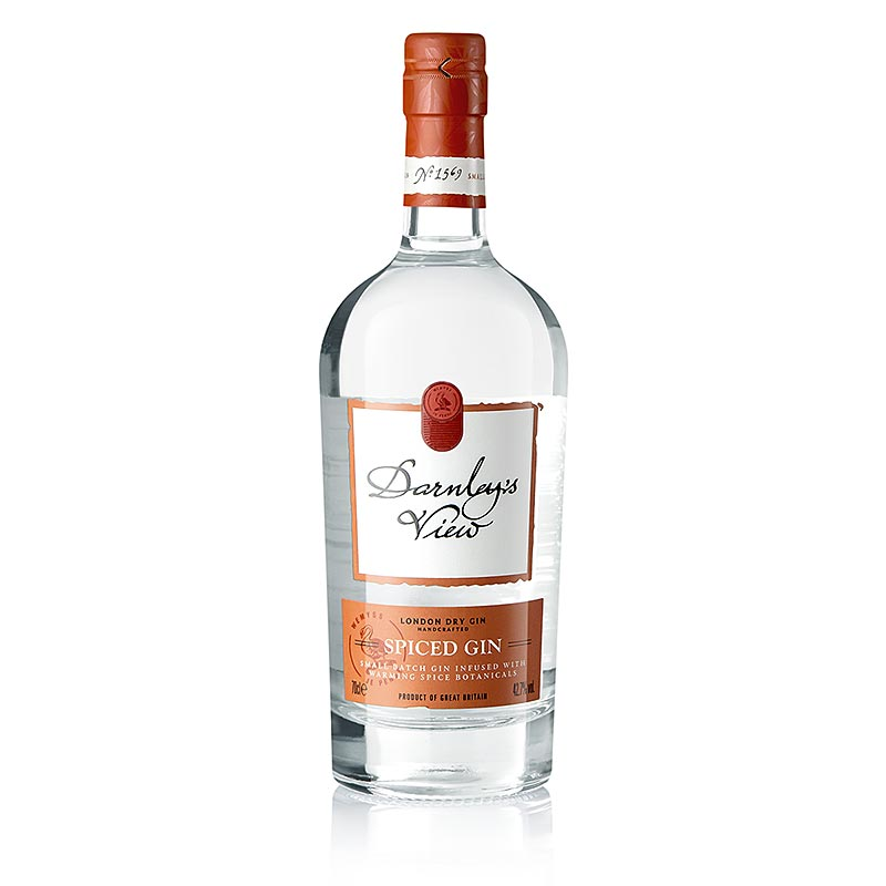 Darnley`s View, Spiced London Dry Gin, 42,7 % vol. - 700 ml - Flasche