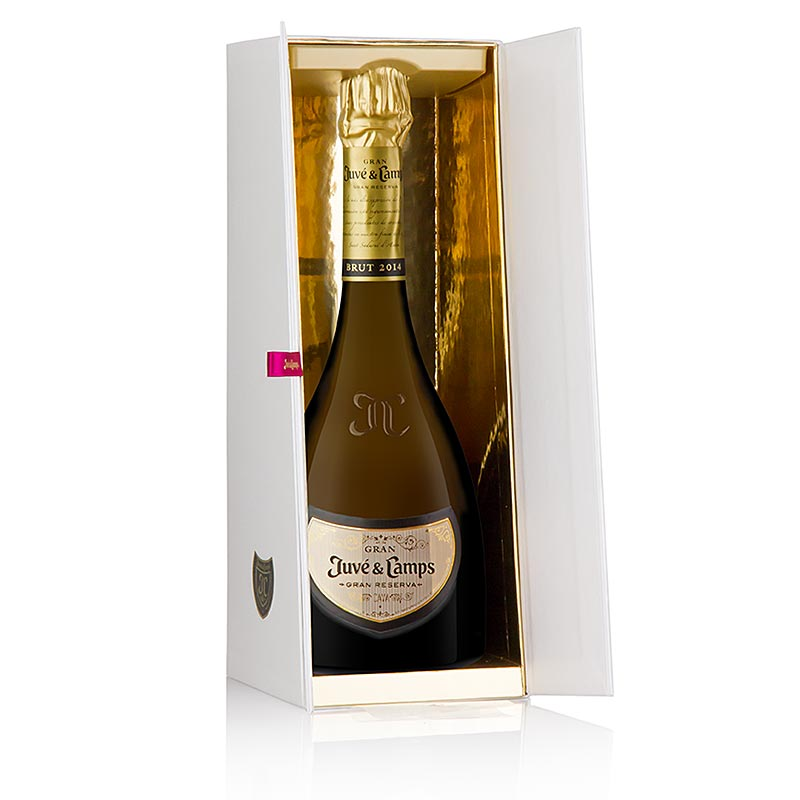 2014er Juve & Camps Cava Gran Juve Reserva, brut nature, 12% vol. - 750 ml - Flasche