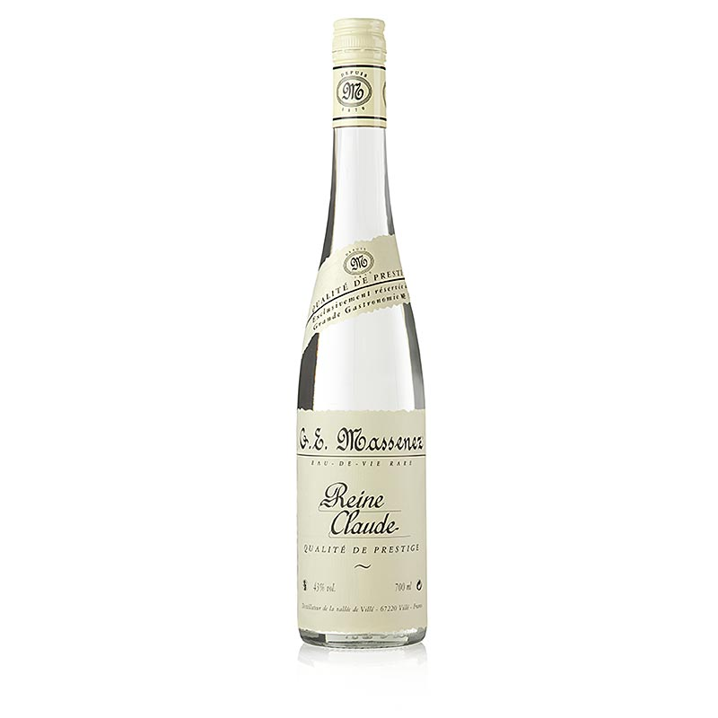 Massenez Pure Claude Prestige, Reneklodenbrand, 43% vol., Alsace - 700 ml - bottle