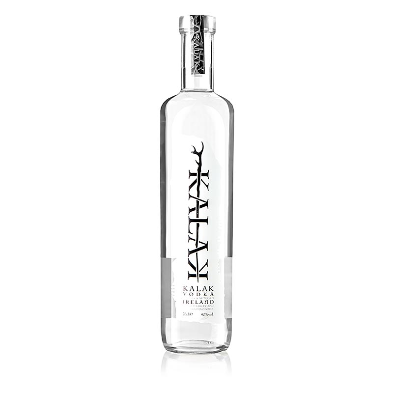 Kalak, Irish Single Malt Vodka, 40% vol., Irland - 700 ml - Flasche
