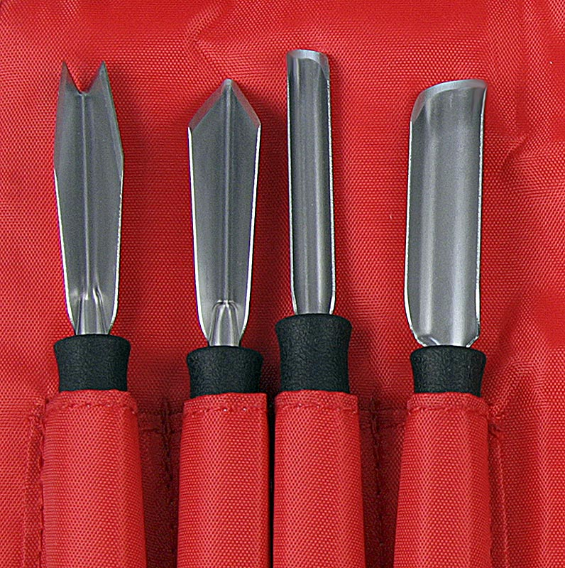 Carving Knife Set Professional 8-piece, stainless steel, by Triangle - set - carton