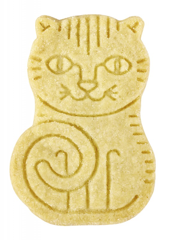 Two by Two, natural vanilla biscuits, Butterkekse mit Vanille aus Madagaskar, Artisan Biscuits - 100 g - Packung