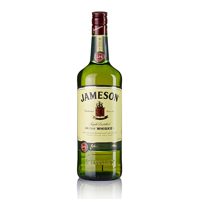 Blended Whisky Jameson, 40% vol., Irland - 1 l - Flasche