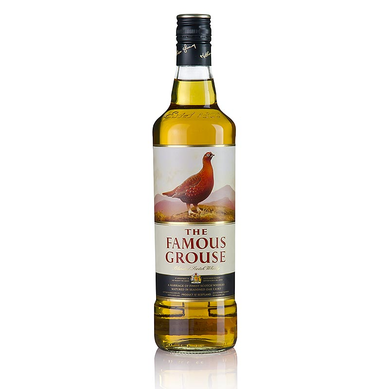 Blended Whisky Famous Grouse, 40% vol., Schottland - 700 ml - Flasche