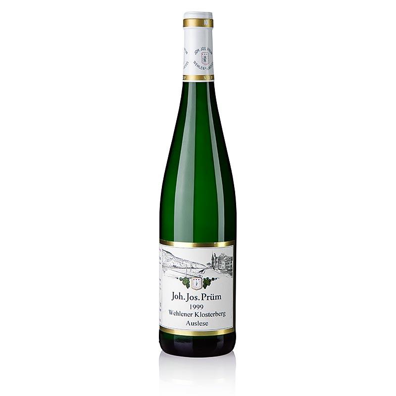 1999er Wehlener Klosterberg Riesling Auslese, edelsüß, 8,5% vol., J.J. Prüm - 750 ml - Flasche
