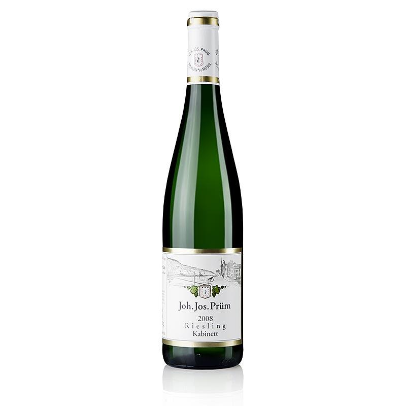 2008er Riesling Kabinett, fruchtsüß, 8,5% vol., J.J. Prüm - 750 ml - Flasche