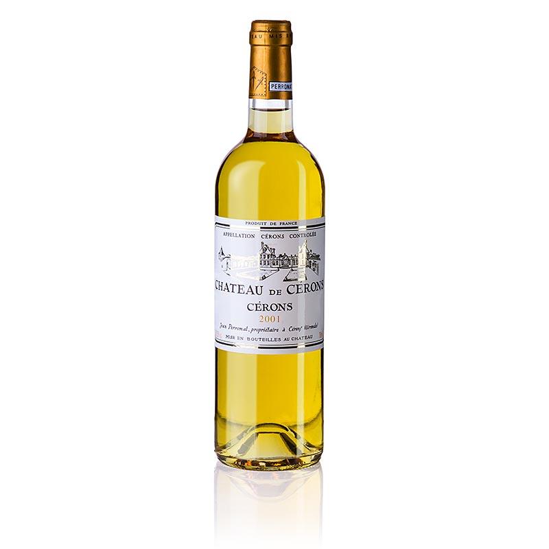 2001er Cerons, süß, 13,5% vol., Chateau de Cerons - 750 ml - Flasche