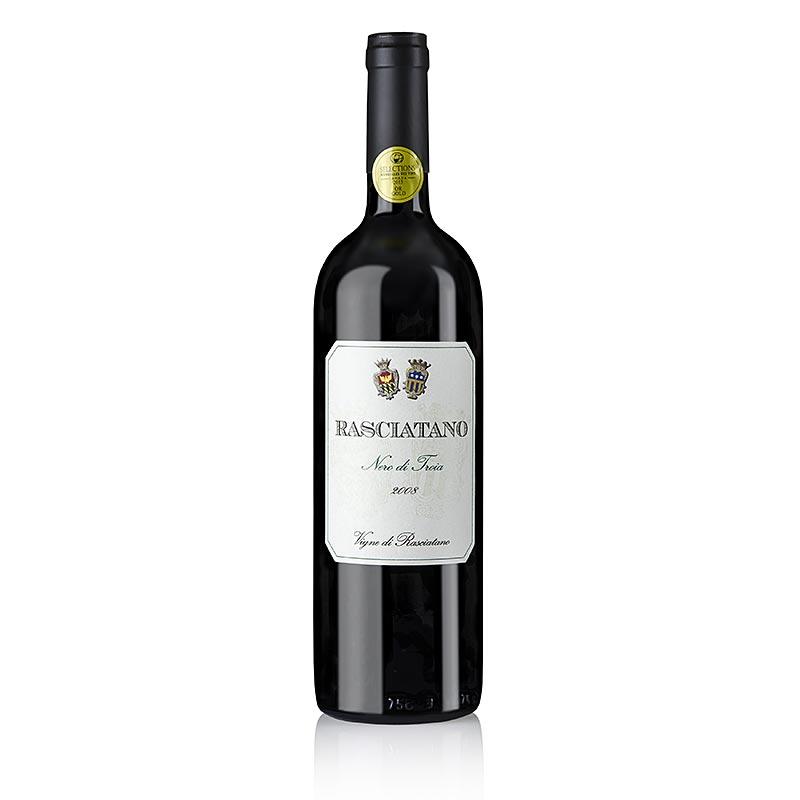 2008er Nero di Troia, trocken, 13,5% vol., Rasciatano - 750 ml - Flasche