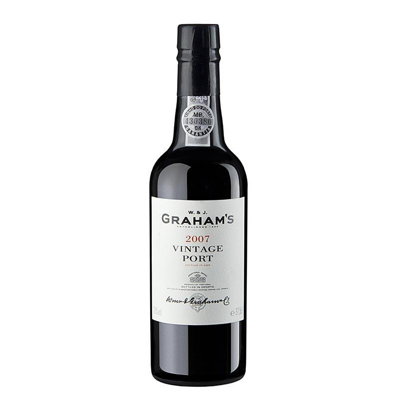 Grahams - 2007er Vintage Portwein, 20% vol., 97 Parker / 96 Wine Spectator Pkt. - 375 ml - Flasche