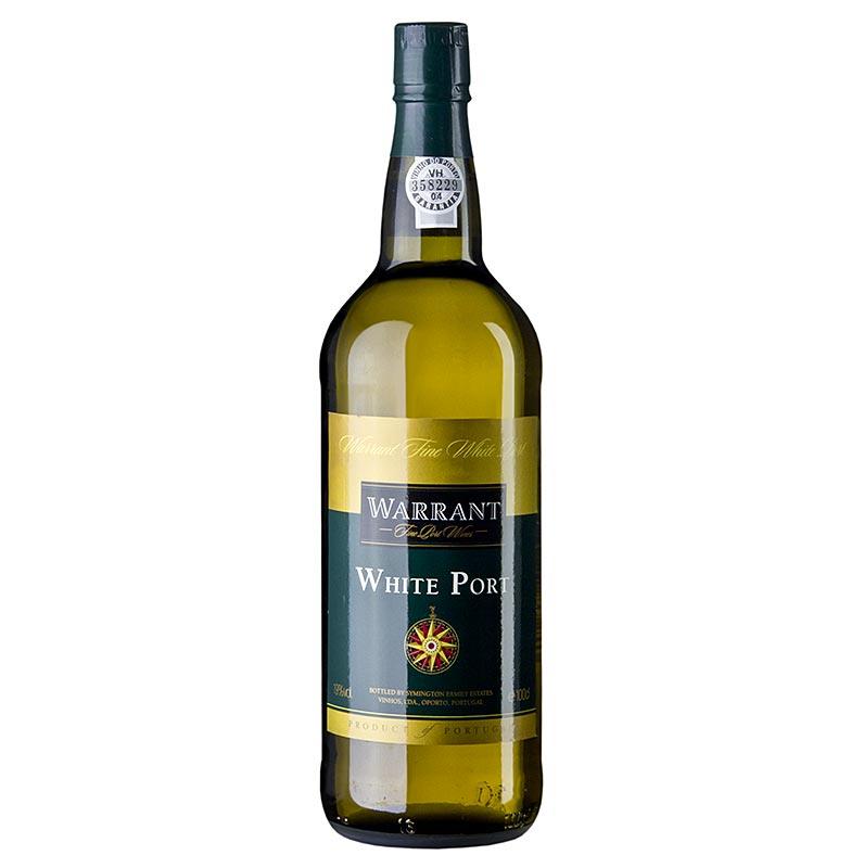 White Port, offener Ausschank / Kochportwein, 19% vol., Warrant (Symington) - 1 l - Flasche